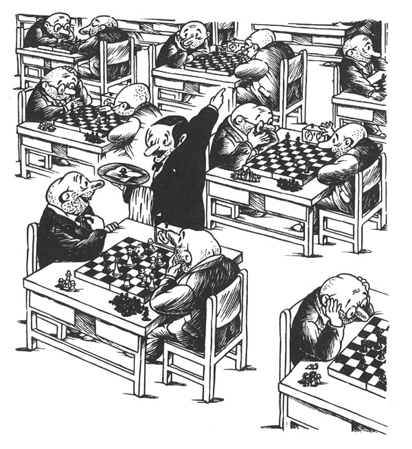 Σκακιστικό Καφενείο της Παρασκευής – Από 30/10 στις 7μμ